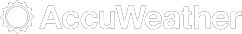 Accuweather monochrome logo